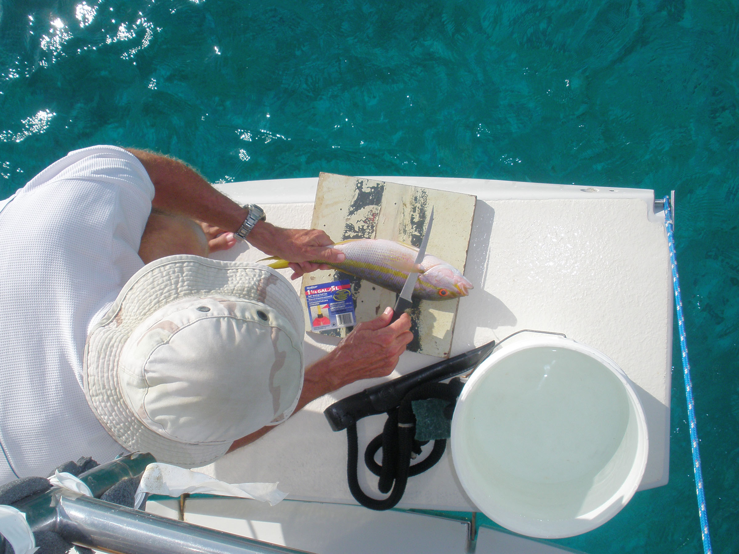 Highbourne cay is a high brow stop last star blog for Fish cleaning station near me