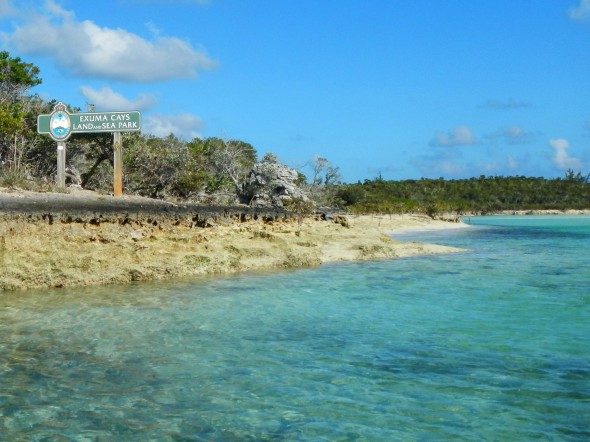 Shroud Cay Channel Entrance