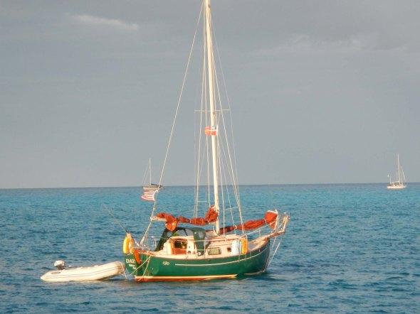 Tiny tiny boat....