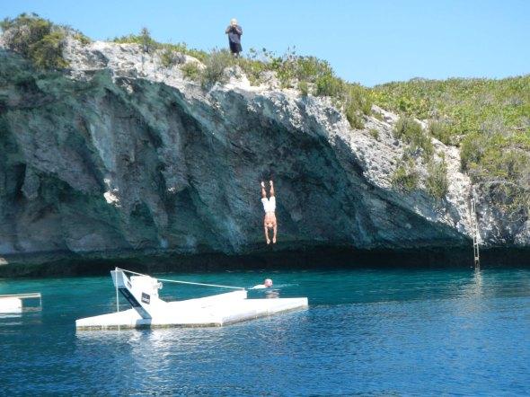 Diving Dirk!