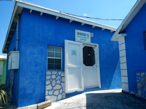 Burke's Blue Store