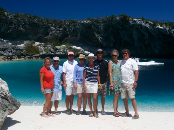 The Gang at Dean's Blue Hole