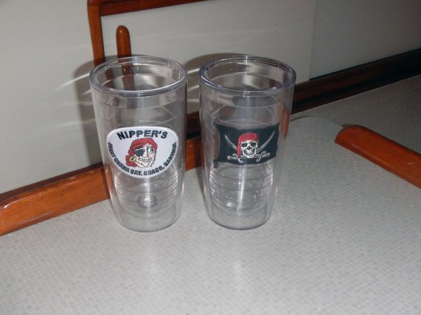 Two Tervis Tumblers (alliteration, my fave)