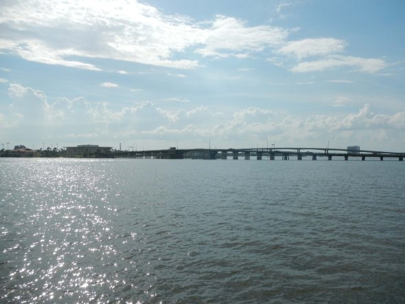 Daytona beach bridge.