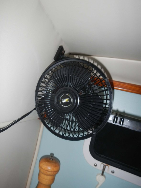 $14 Wal-mart rattle fan...also from China